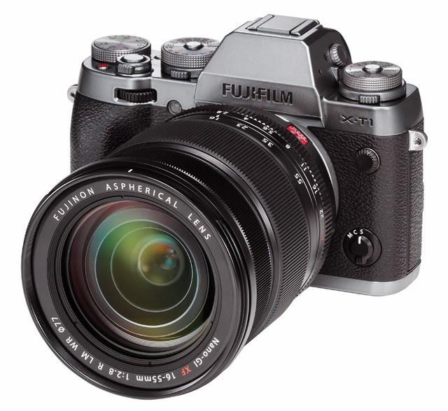 La Fuji X-T1 con lo zoom XF16-55mm F2.8 R LM WR