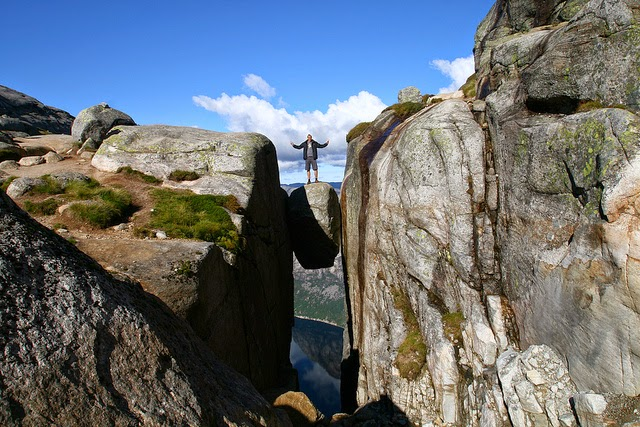 Kjeragbolten, Norwegia