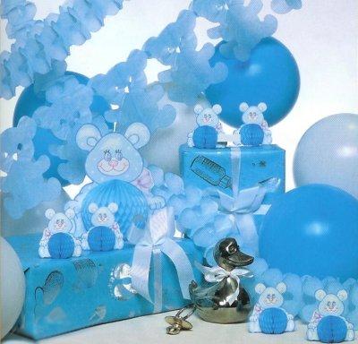 Buscando ropita online me prepararon una baby shower - Adornos baby shower nino ...