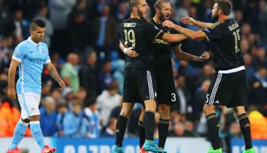 Manchester City 1 x 2 Juventus - Grupo D / Champions League 2015/16