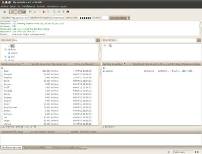 FileZilla 3.6.0 RC1
