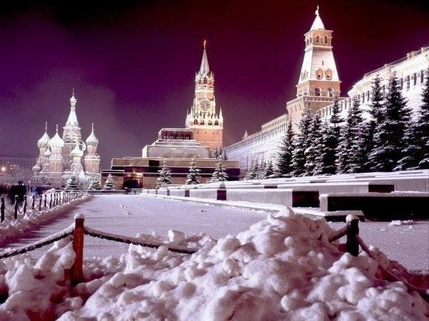 Rusya'ya beklenmedik bir şekilde yeniden kış geldi