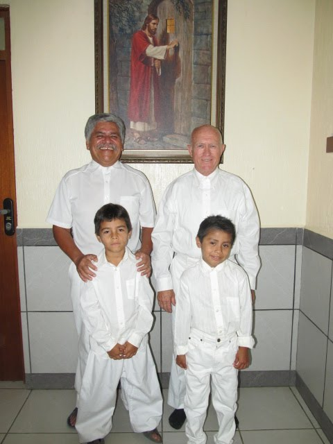 Hermano Antonio and Elder Spradlin