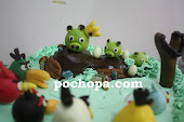Birthday Cakes with Figurines