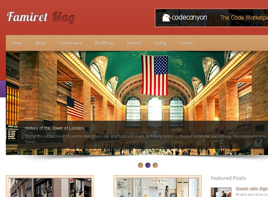 16 Best 2012 Free WordPress Themes