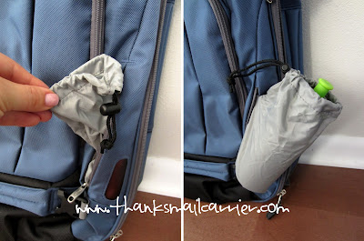 backpack water bottle pocket