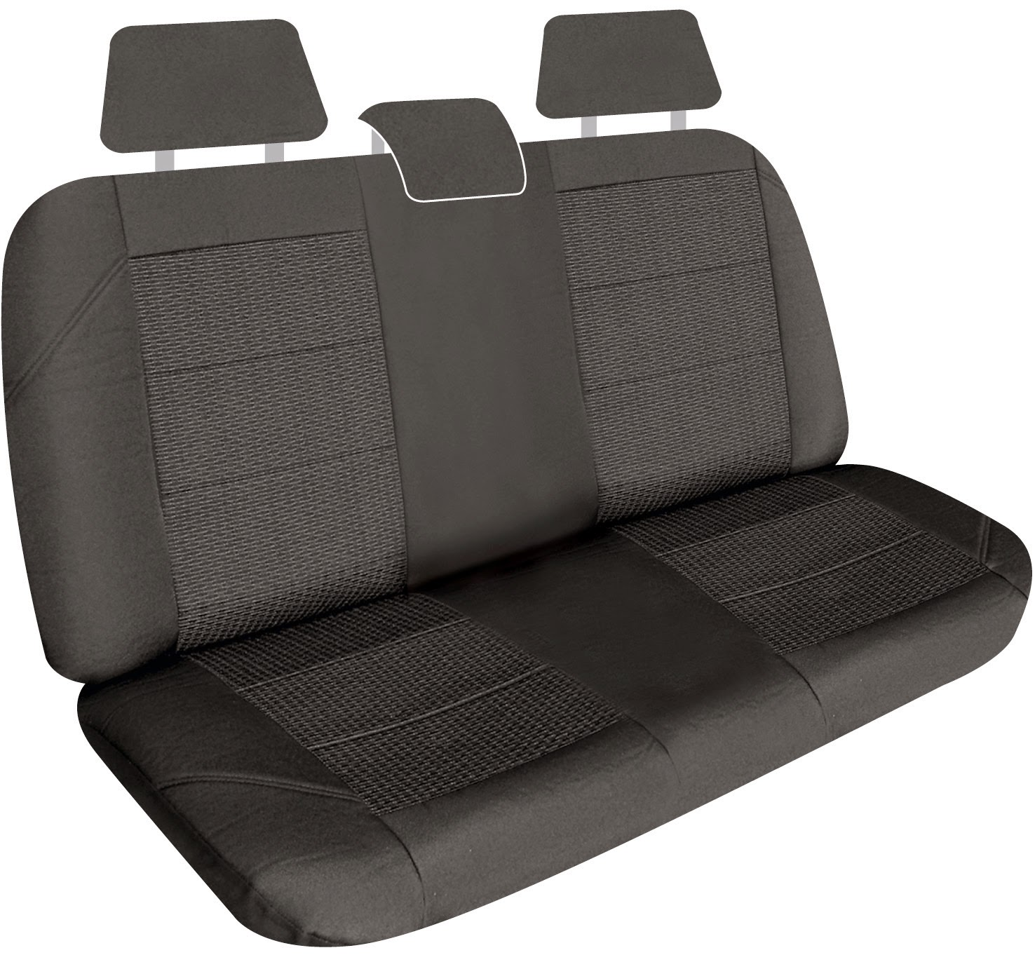 Back seat covers Elite gry