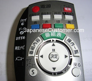 Japanese remote control copyright peter hanami 2010