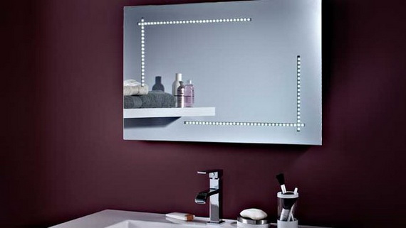 10 Modern Bathroom Mirror Ideas