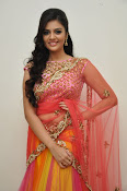 sri mukhi glam pix in half saree-thumbnail-8