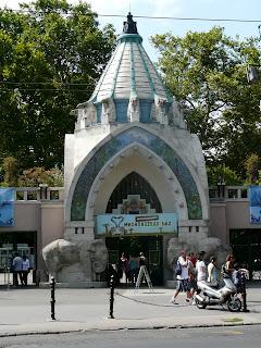 Budapest, zoo, art nouveau