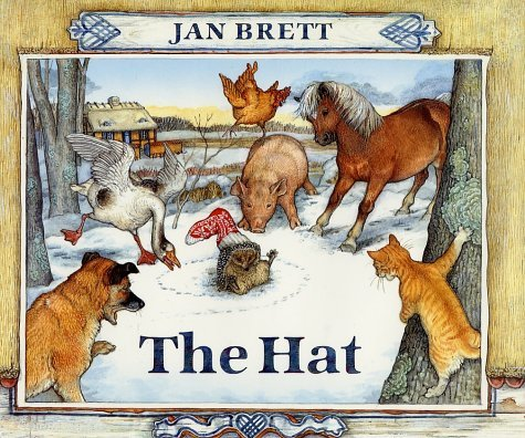 We also read The Hat by Jan Brett. You can compare the two stories. Or ...