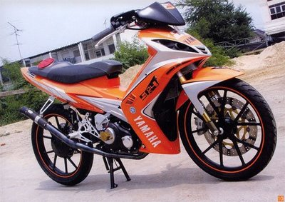 New Modifikasi Yamaha Spark 135 cc Thailand Pictures SPORT Motorcycles title=