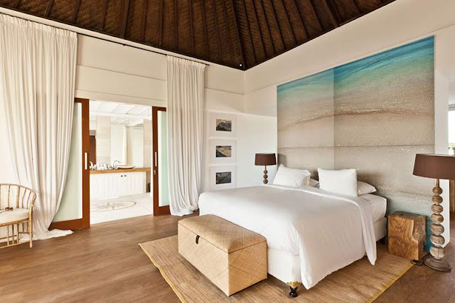 Picture of modern tropical bedroom