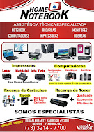 HOME NOTEBOOK ASSISTENCIA TÉCNICA ESPECIALIZADA