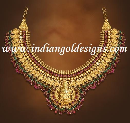 Gold and diamond jewellery designs joy alukkas lakshmi for Designs com