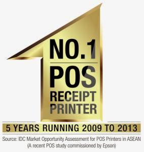 Epson: Top SE Asia Point-of-Sale Printer Manufacturer for Five Years