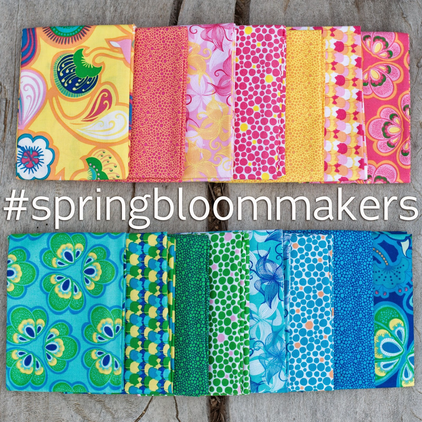 Spring Bloom Makers, Fabric Design, Windham Fabrics, Bella Caronia