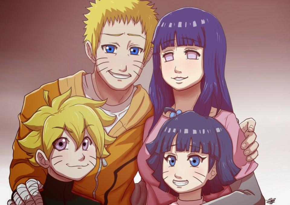 Kumpulan Foto Naruto, Hinata dan Anak-Anaknya