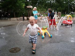 Dana Park splash pad