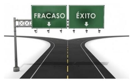 Encontrar el camino que lleva al éxito