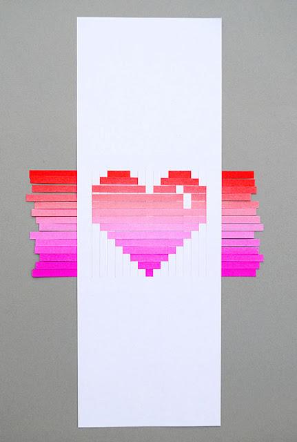 DIY tarjeta para San Valentín