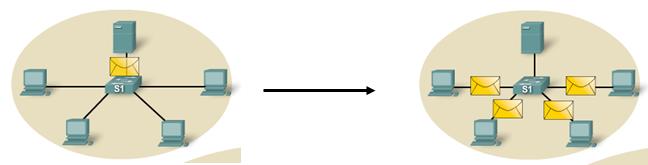 Le domaine de collision et de diffusion en détails