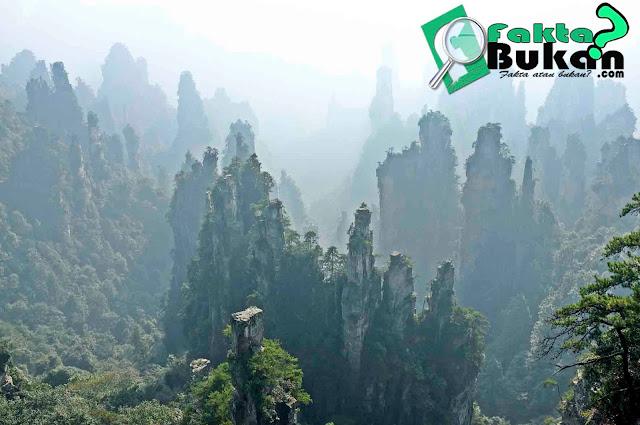 Gunung Avatar - Penampakan Gunung Di Film Avatar Ternyata Ada Di China