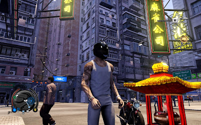 Игра Sleeping Dogs забавный шлем