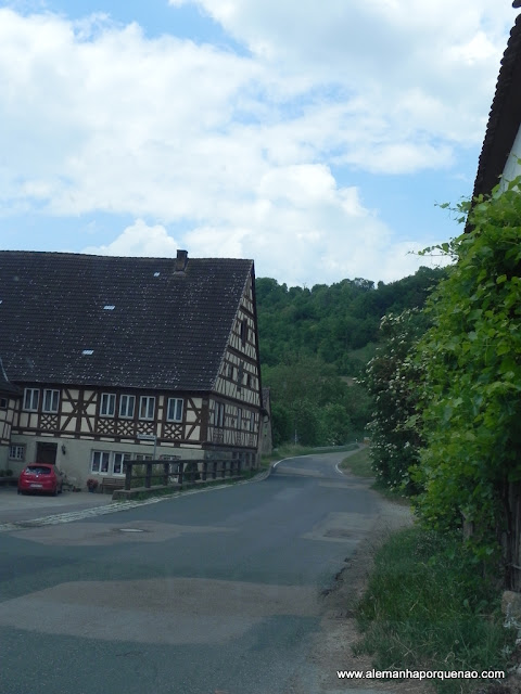 Muitos vilarejos lindos pelo caminho da Estrada Romântica