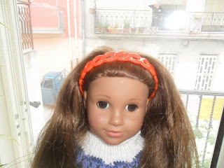"18"" doll hairband"