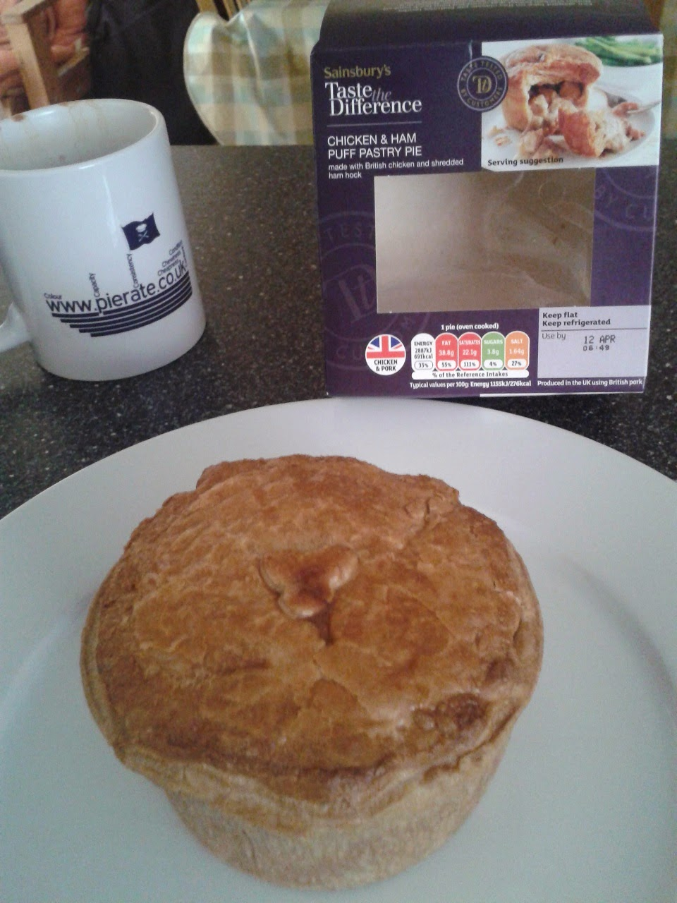 Sainsbury's Taste The Difference Chicken Pie Review