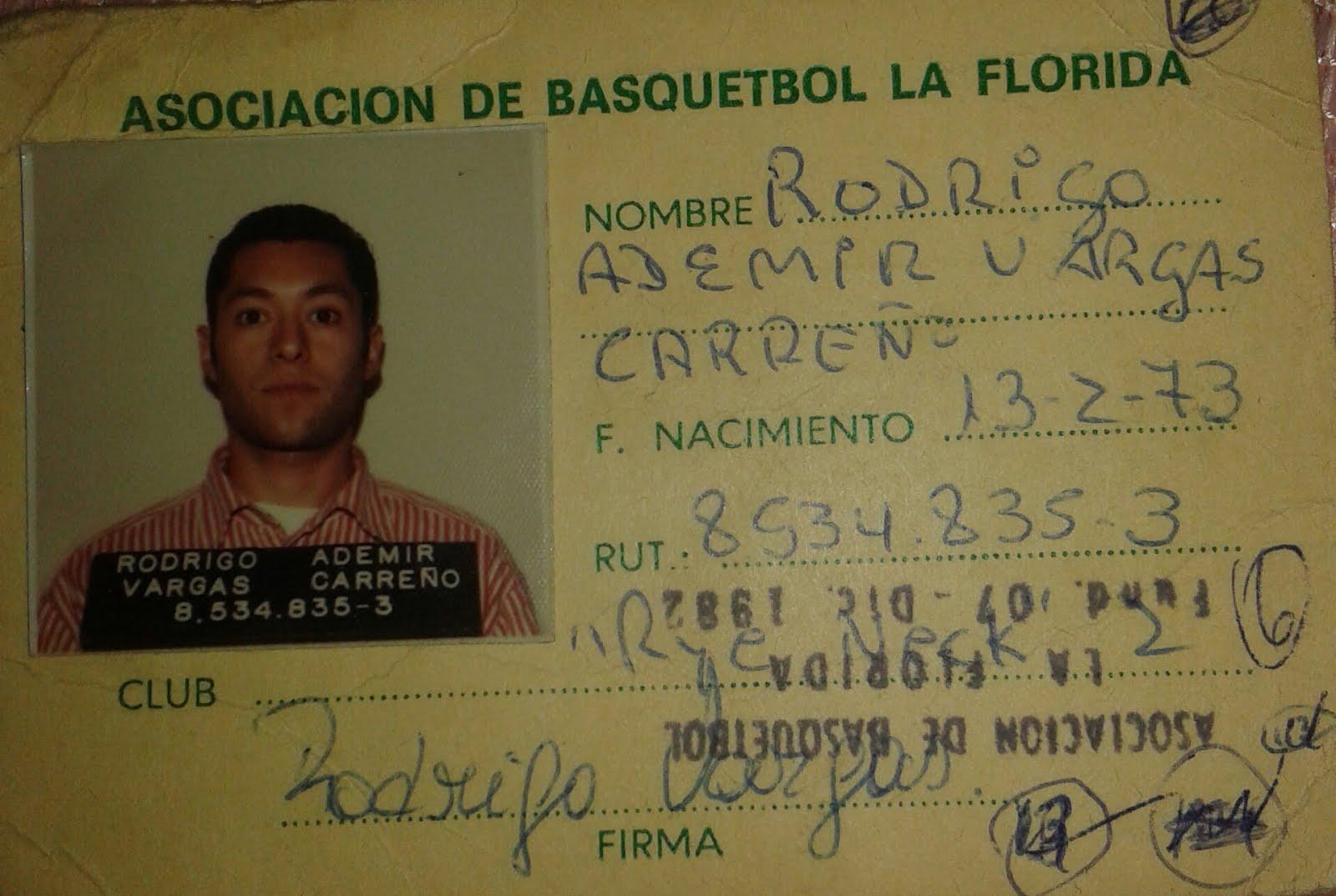 """""""Rodrigo""""  otro ex jugador -"""