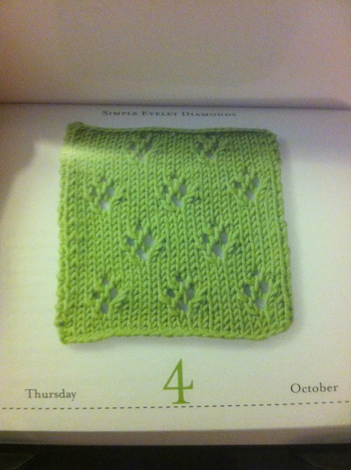 Vogue Knitting Stitch A Day Calendar : Jenns Yarn Addiction: Vogue Knitting Stitch a Day Calendar!