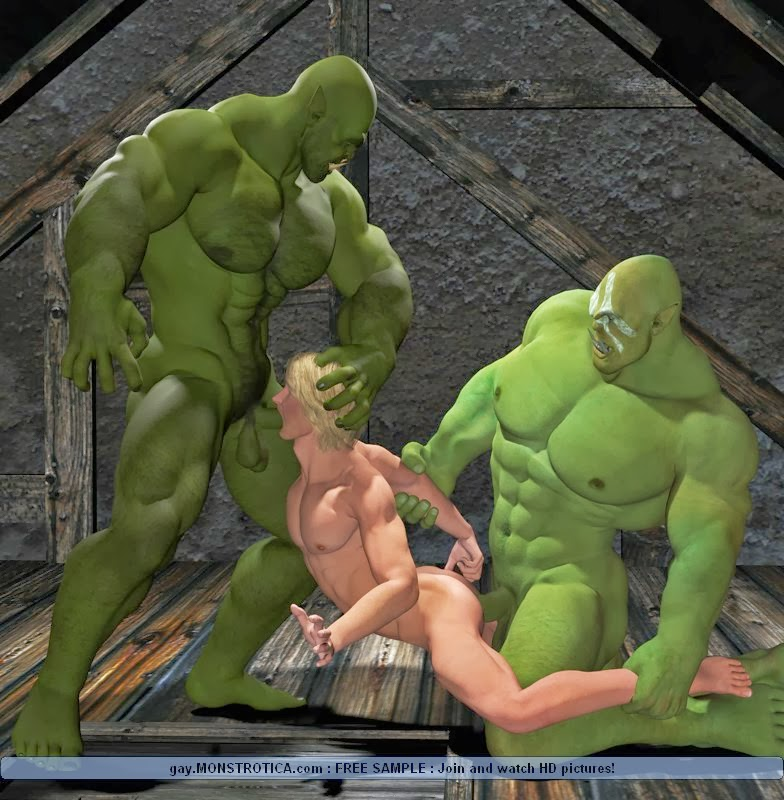 гей порно мультик монстров