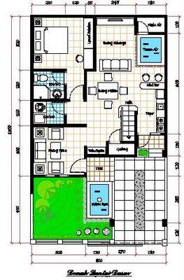 gambar rumah minimalis satu lantai on ILMU SATU STRIP: Denah rumah