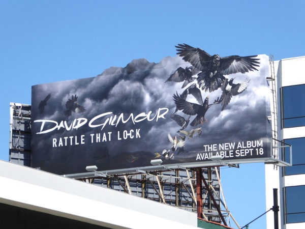 David Gilmour Rattle that lock album billboard