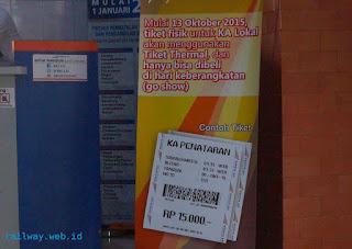 Tiket KA Penataran Dhoho Bisa Dipesan H-7 Mulai 1 Desember 2015
