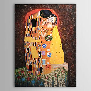El beso de gustav klimt cuadros de pinturas famosas - Cuadros de besos ...