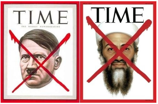 with hitler bin laden and. Osama Bin Laden and Hitler.