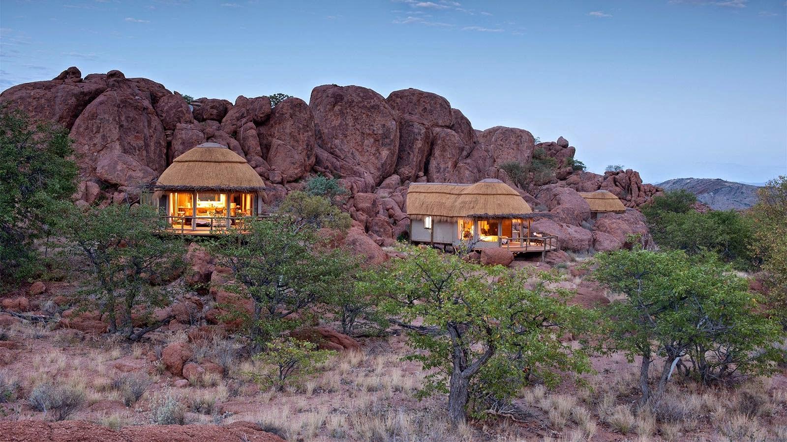Mowani Camp Damaraland Twyfelfontein Namibia