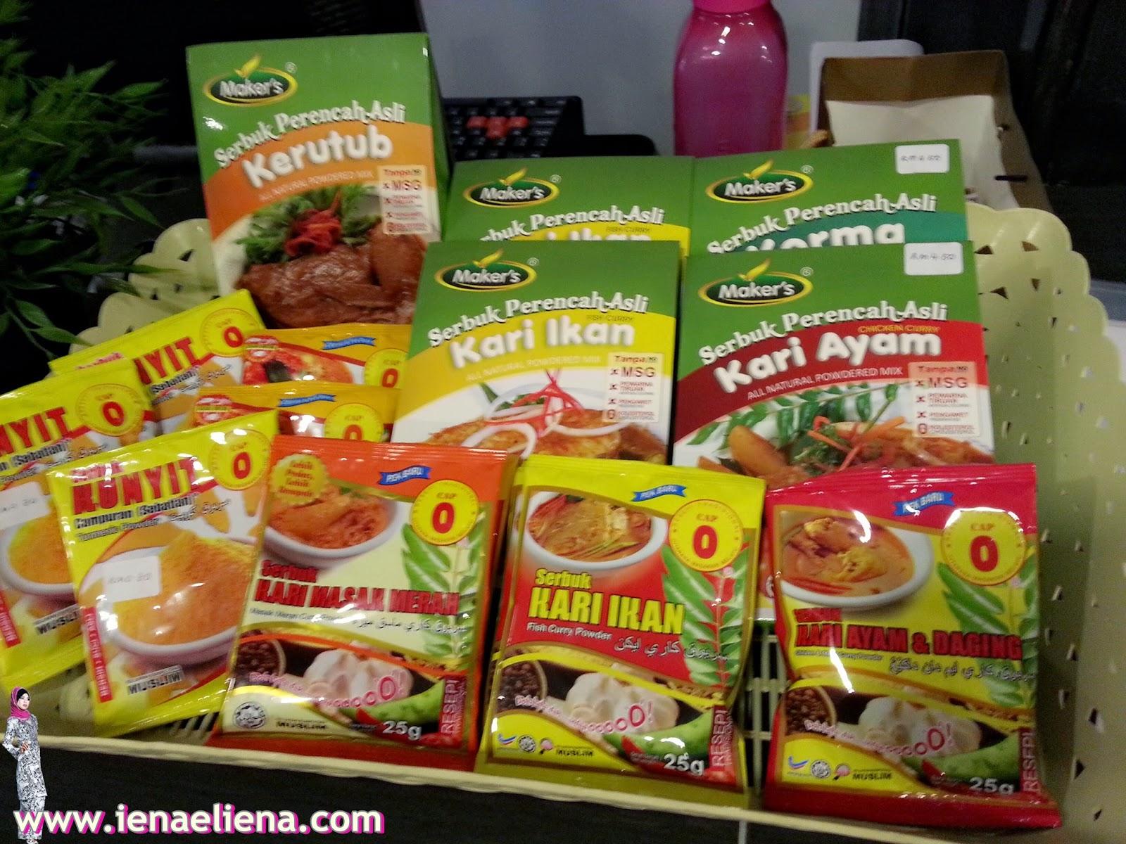 Maker's Produk Halal Keluaran Bumiputera Muslim