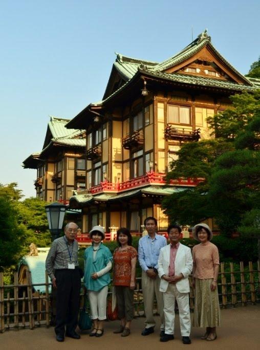 at Fujiya hotel, Hakone