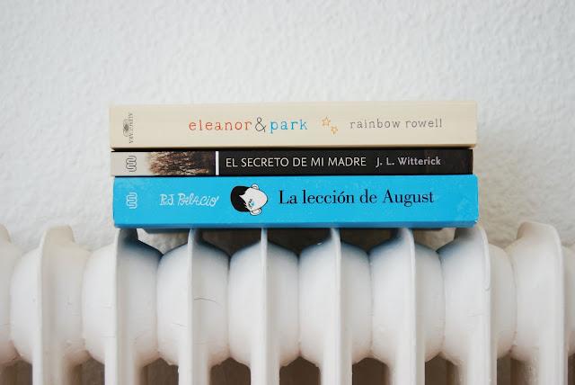 tres libros para adolescentes que te gustarán