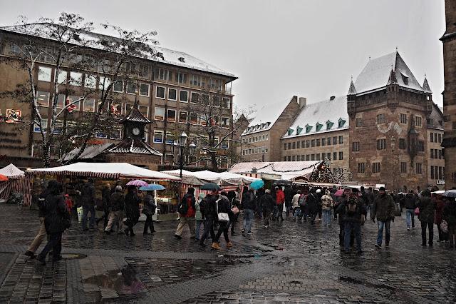 zasněžený Norimberk // snowy Nuremberg
