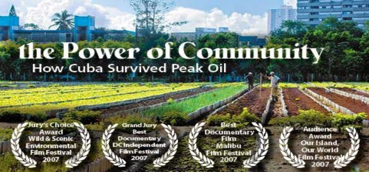 Como sobrevivió Cuba al Peak Oil  documental