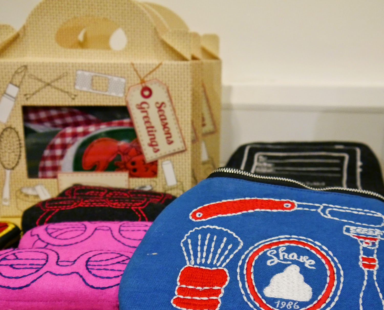 Wear Eponymous, The Wardrobe, Glasgow Fort, Glasgow Pop Up Shop, Shop Display, Scottish Design, Sewlomax, embroidered accessories