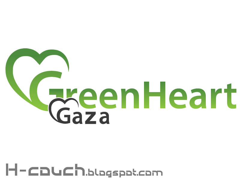 Download Green Heart Gaza Logo Free { Vector }