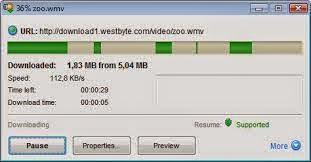 برنامج زيادة سرعة التحميل إلى أضعاف Internet Download Accelerator