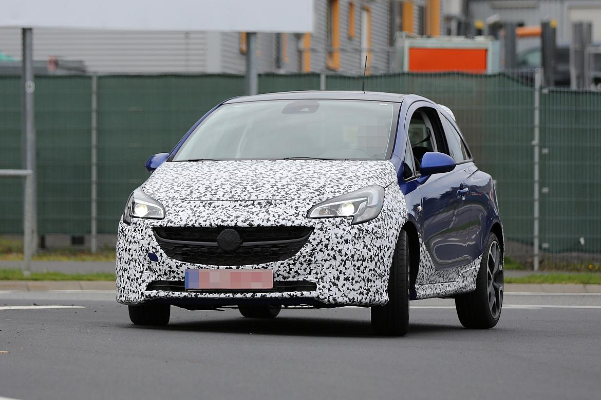 2 new vauxhall corsa opc spotted